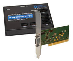 Boundary Scan Controller complies with PCI bus specification.