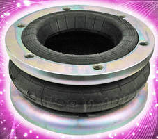 Air Springs isolate vibration for low-frequency machines.