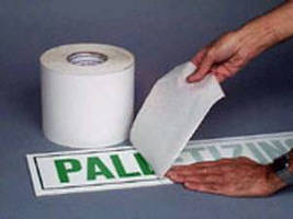 Adhesive Tapes target sign and banner industry.