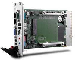 CompactPCI® Processor Blade includes Intel® Atom(TM) processor.