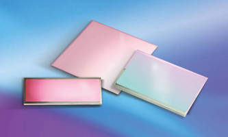 Deposition Sciences' Highly Durable LWIR Bandpass Filters