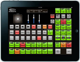 Control Panel Software supports video production with iPad.
