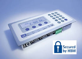 Scale Display provides encrypted data transmission.