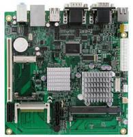 Mini-ITX Motherboard features Intel® Atom(TM) N450 or D510.