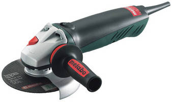Heavy-Duty 6 in. Angle Grinder has auto-balanced design.