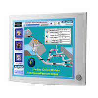 Flat Panel Monitor suits industrial applications.