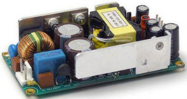 Open Frame Power Supplies are rated up to 80 W.