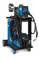 MIG Welding System accommodates multiple wire types.