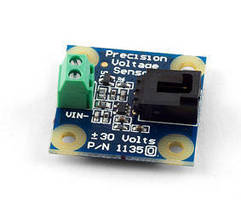 Precision Voltage Sensor features input impedance of 1 Mohm.