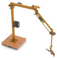Pneumatic Torque Reaction Arm reduces worker injuries.