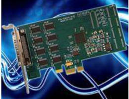 PCIe Serial Communication Cards have low-profile design.