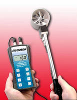 Hygro-Thermo Anemometer operates in harsh environments.