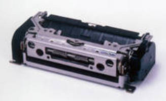Compact OEM Thermal Printer accelerates ticket, label output.