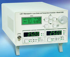 Laser Diode Controller meets laboratory requirements.