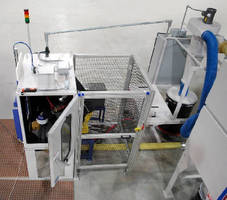 Blast Machine incorporates Fanuc LR Mate 200iC robot.