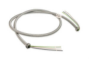 Steel Fixture Whips target various electrical applications.