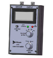 Portable Vibration Meter suits field testing of accelerometers.