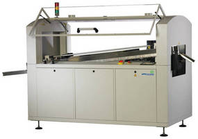 Wave Soldering Machine offers continuous PCB width adjustment.