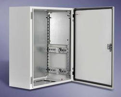 Wall-Mount Enclosures allow scalable component mounting.