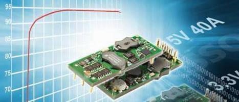 DC/DC Power Module optimizes 5 V bus voltage to match load.
