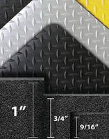 Anti-Fatigue Mat utilizes 100% recycled PVC.