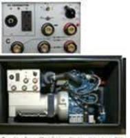 Generator/Welder Combination has space-saving design.