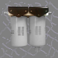 Filtering Base allows consecutive mounting of fuel filters.