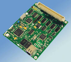 Interface Board controls digital devices over network.
