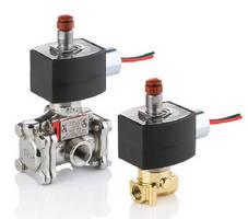 Low-Power Solenoid Valves feature .55 W power consumption.