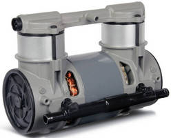 Lightweight Compressor combines small footprint, low noise.