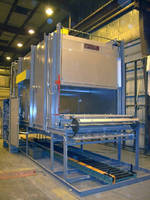 Conveyor Oven Cures Ceramic Glue in Automotive Parts