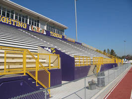 Hollaender® Tackles Handrail Corrosion Problems at Louisiana Football Stadiums with New Interna-Rail®, Color Coordinated System