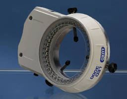 LED Ring Light offers built-in dimming controls.