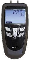 Battery-Powered Manometer measures pressure and air velocity.