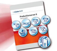 Production Software suits inkjet and toner color copiers.