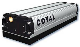 Universal Vacuum Gripper lifts boxes, pails, and pallets.