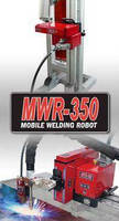 Welding Robot enables remote process monitoring.