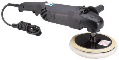 Electric Rotary Polisher incorporates rotating handle.