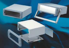 Aluminum Instrument Enclosures come in 6 sizes.