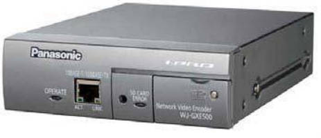 H.264 Video Encoder integrates analog cameras onto IP network.