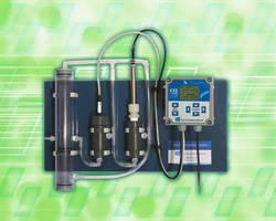 ClO2 Analyzer has panel-mounted, low-maintenance design.