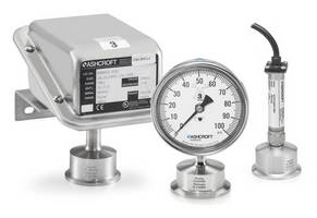 Monitor Pressure in Sanitary Environments