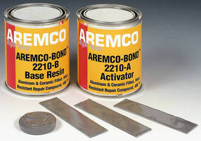 High-Strength Epoxy makes repairs in environments up to 400°F.