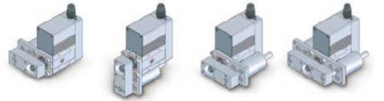 Electric Actuators offer single and double guides.