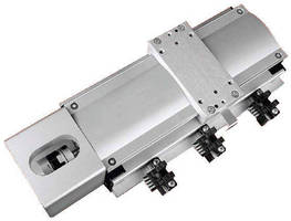 Single-Axis Linear Actuator achieves speed to 200 mm/sec.