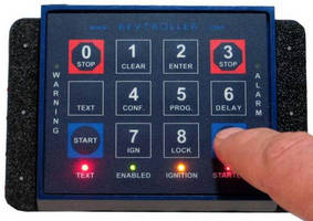 Keypad Ignition System secures machinery from theft.