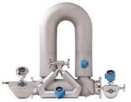Coriolis Flow Meters feature online verification technology.