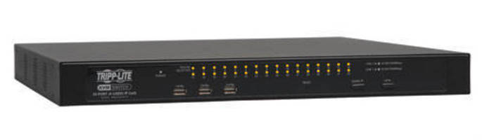 IP KVM Switches feature built-in IP access.