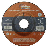 New Look for Weiler's Bonded Abrasives