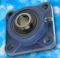 Flange Mounting Blocks feature locking collars, set screws.